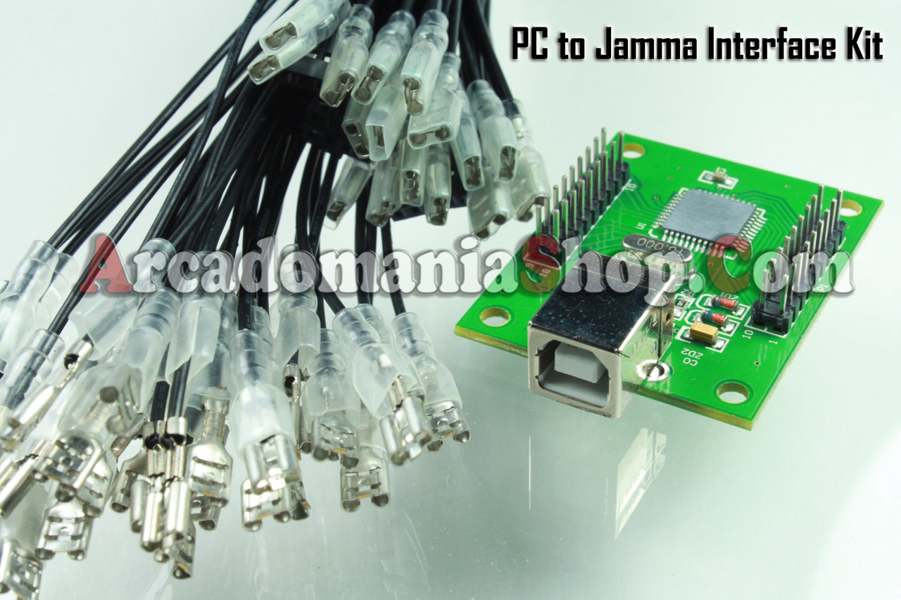 PC (MAME) / PS3 to Arcade Controller USB Interface PCB Kit