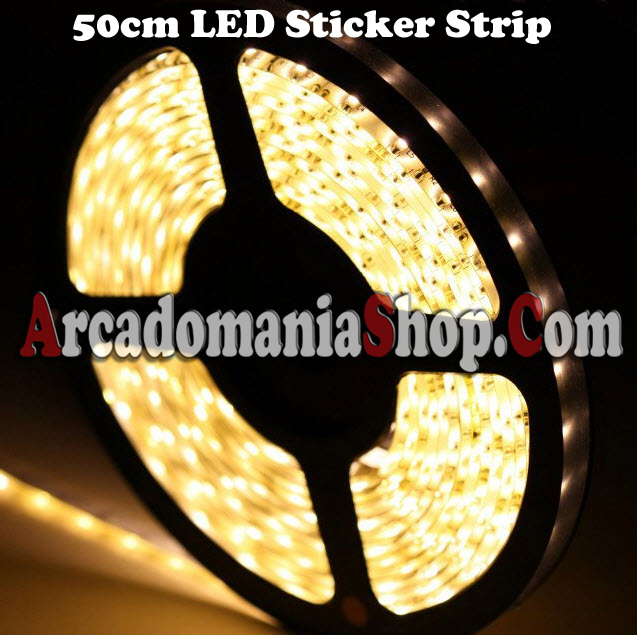 led strip white warm 50cm arcadomania shop. Black Bedroom Furniture Sets. Home Design Ideas