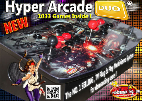 Hyper Arcade Duo Edition TV Gamebox