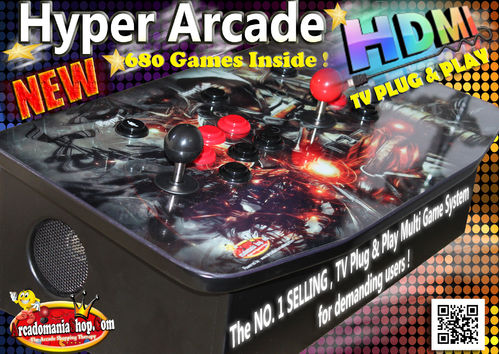 Hyper Arcade HDMI 680 in 1 TV GameBox