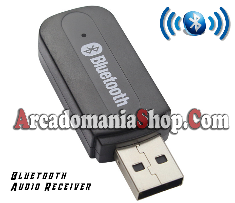 wireless usb audio receiver arcadomania shop. Black Bedroom Furniture Sets. Home Design Ideas