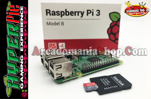 Raspberry Pi 3 + 128 Gb. Hyper Pie Game Software