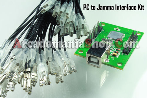 PC (MAME) & PS3 zu JAMMA USB Interface