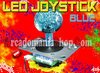 LED JOYSTICK 40mm ★ BLAU