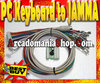 PC Keyboard to JAMMA - MAME