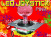 LED JOYSTICK 40mm ★ PINK