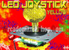 LED JOYSTICK 40mm ★ GELB