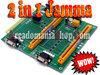 2 in 1 JAMMA Extention Pcb
