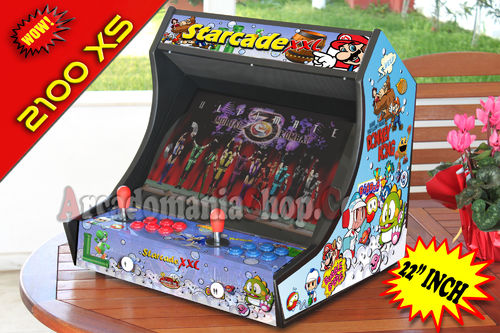 Starcade XS 2100 in 1 - 22 inch Classic Arcade Edition