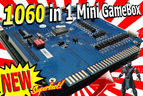 1057 in 1 Mini Edition MultiGameBox