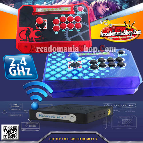 Pandoras Box Wireless Dual Joystick  Console