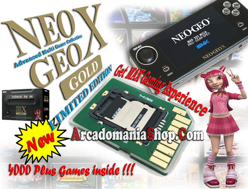 Neo Geo X Gold SD Update