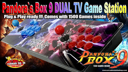 Pandora`s Box 9D TV GameBox