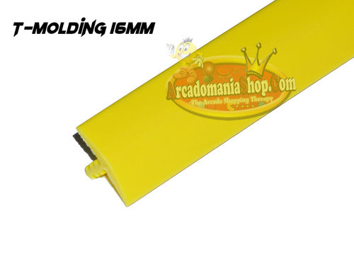 T-Molding 16mm Yellow